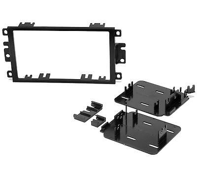 Din Black Dash Kit - Scosche Double Din Dash Kit For Stereo Radio Install Installation Black DVD