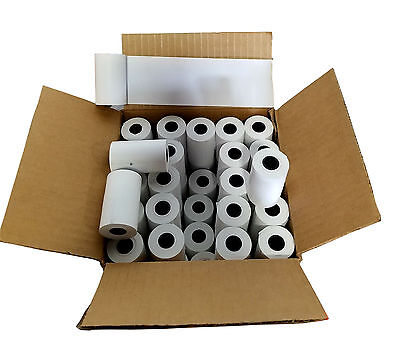 100 Rolls 2-14 X 50 Cash Register Credit Card Terminal Thermal Receipt Paper