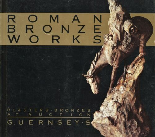 Roman Bronze Works Bronzes and Plasters - 331 Examples / Scarce Book + Values