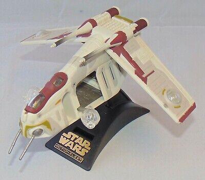 Galoob Star Wars Micro Machines Action Fleet Republic Gunship Vehicle Used