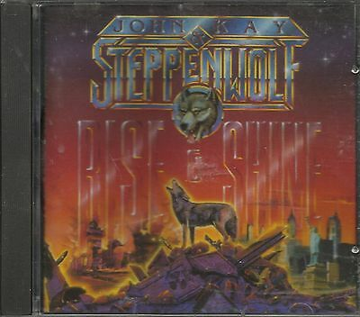 Rise   Shine By John Kay   Steppenwolf  Cd  1990  I R S  Records