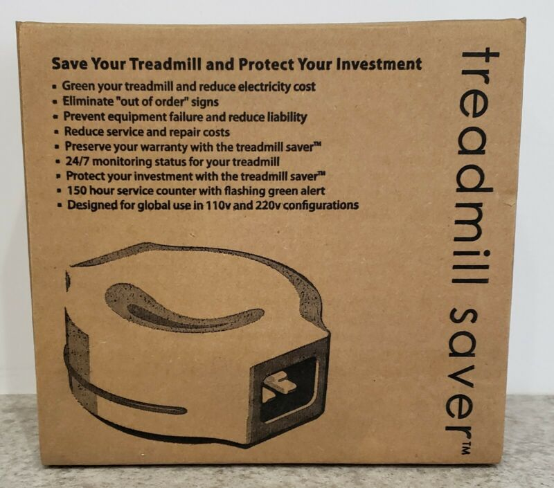 Green Fitness Equipment Treadmill Saver.  New in box.