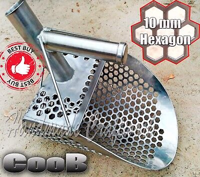 *PELICAN v2* by COOB Large Steel Beach Sand Scoop Metal Detecting Hunting Tool
