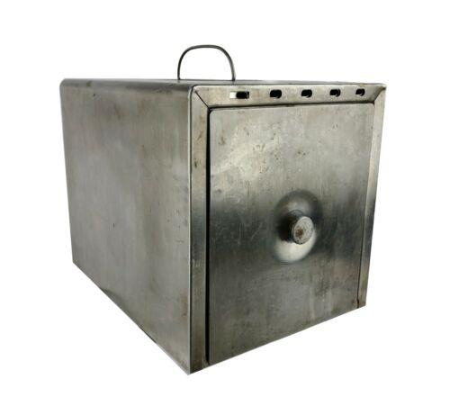 Steri-File Stainless Steel Drawer Box for Sterilizing Dental Medical Instruments