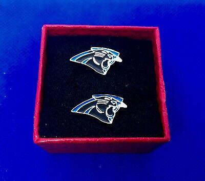 nschettenknöpfe Set Geschenkidee Fußball Geschenkidee Neu (Carolina Panthers Geschenke)