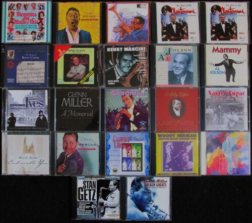 lot of 22 old Favorites Jazz etc. Frank Sinatra, Al Jolson + more FREE SHIPPING
