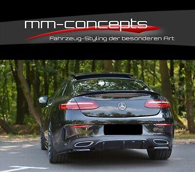 CUP Diffusor SCHWARZ für Mercedes E-Klasse W213 AMG Line Heck Ansatz Schürze