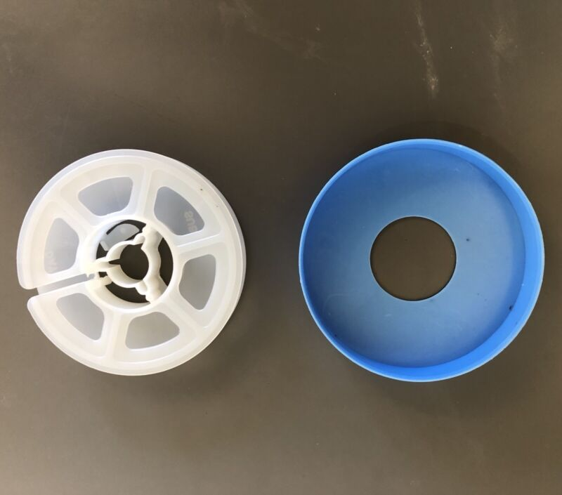 SUPER 8 Movie Film Reel with storage cover, 50 ft reel - NEW, Super 8MM