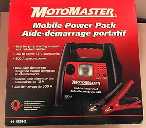 Motomaster Mobile Power Pack 500Amp NIB