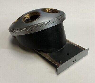 Leitz Ortholux Ii Diavert 1x Microscope Nosepiece Turret
