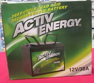 ACTIV ENERGY 12 VOLT SEALED LEAD ACID RECHARGEABLE BATTERY Miller Liverpool Area Preview