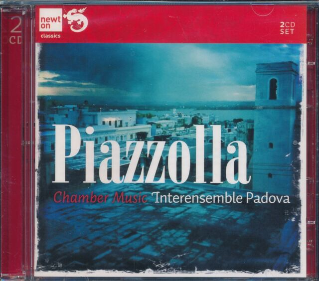 Piazzolla 2-disc CD NEW Chamber Music Interensemble Padova