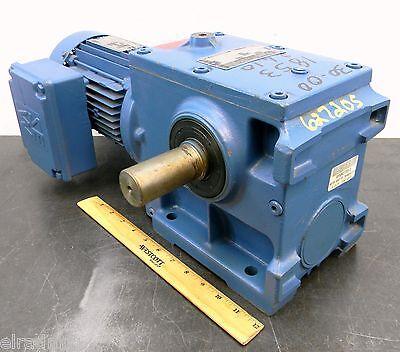 Sew-eurodrive Electric Gear Motor 1 Hp 3 Phase 230460 Vac