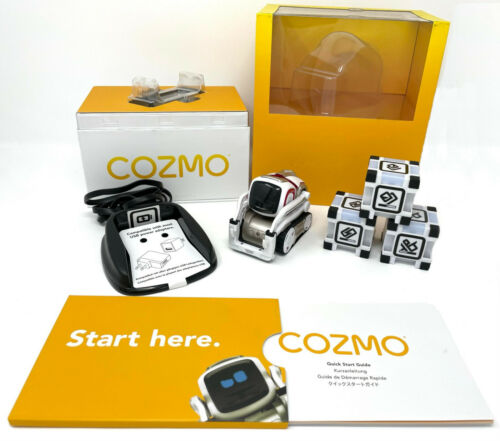 Anki Cozmo Robot Toy with accessories - TESTED and COMPLETE