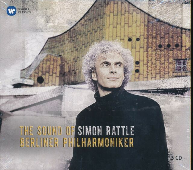 Berliner Philharmonic The Sound of Simon Rattle CD NEW 3-disc Mahler Adagios