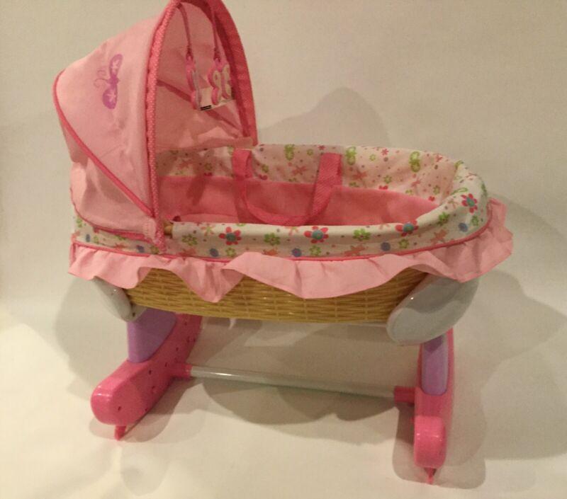 Fisher•Price Little Mommy Newborn Crib/ Bassinet / Bed