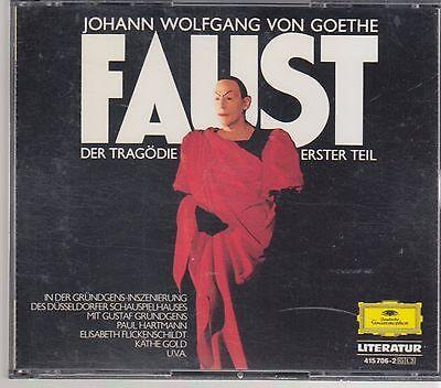 Grundgens/Hartmann GOETHE Faust - DG 415 706-2 W.Germany Full Silver No IFPI