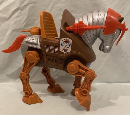 STRIDOR Vintage Masters Of The Universe, MOTU War Horse, He-Man COMPLETE  - $14.00