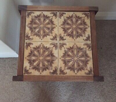 G Plan Side Tiled Table 4 Collection Mid Century