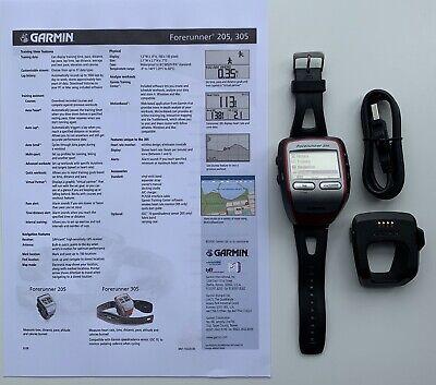 Garmin Forerunner 305 GPS Sport Running Cycling Watch. Perfect working order.