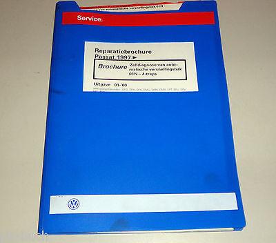 Reparatiebrochure VW Passat B 5 Zelfdiagnose automatische versnellingsbak 01N