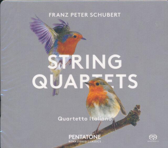 Franz Schubert String Quartets CD NEW Quartetto Italiano