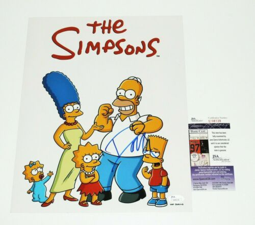 COMPOSER DANNY ELFMAN SIGNED THE SIMPSONS MUSIC 11x14 SHOW PHOTO POSTER JSA COA