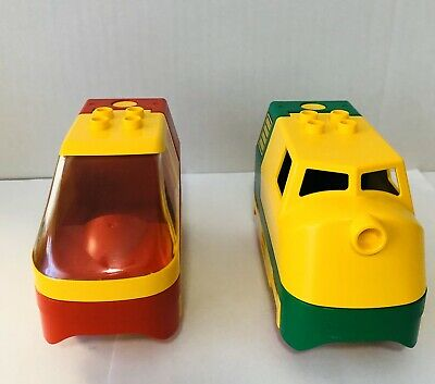 Lego Duplo 31298 31299 Top Locomotive Battery Powered Base 2961 Train Lot of 2