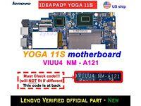 90004935 Lenovo IdeaPad Yoga 11S Laptop Motherboard w//Intel i5-4210Y 1.5GHz CPU