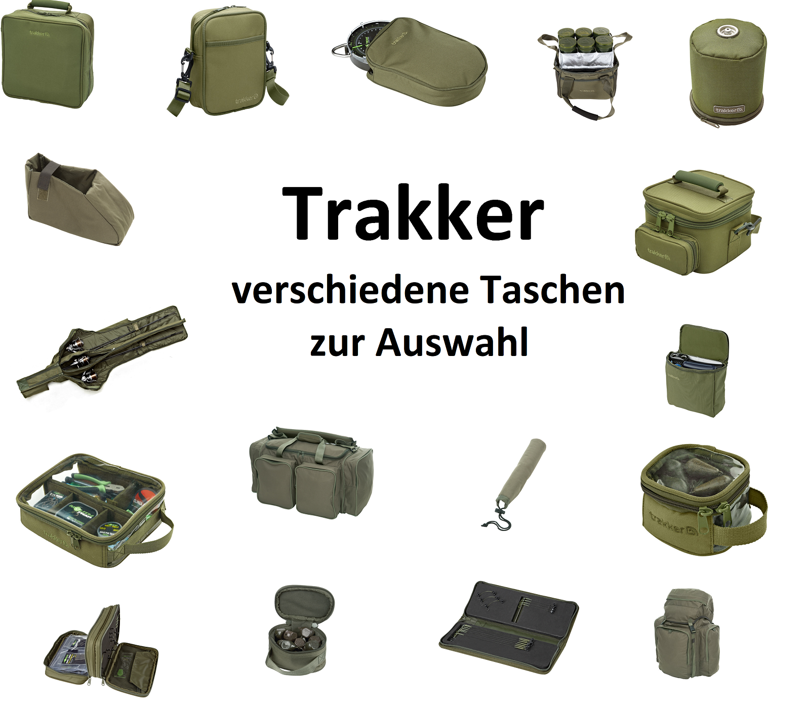 Trakker NXG Tasche Carryall Bleitasche Zubehörtasche PVA Lead Pouch Angeltasche
