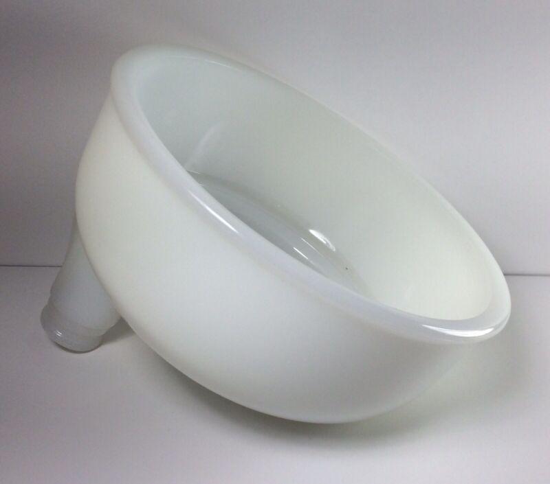 Vintage Sunbeam Mixmaster Replacement Milk Glass Juicer Bowl