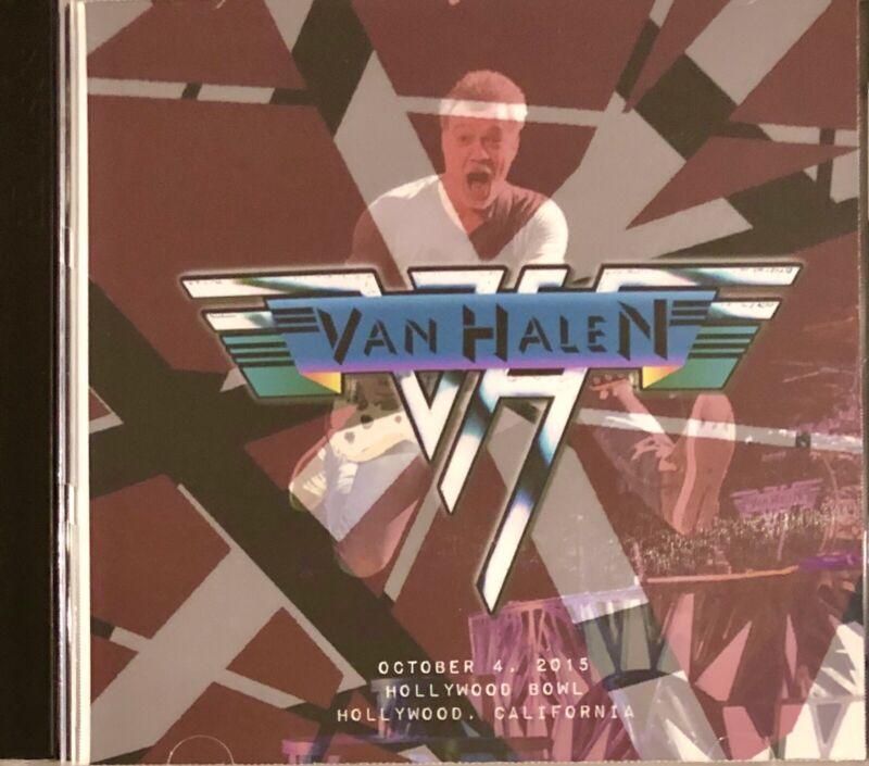 Van Halen Live CD Soundboard Recording Of Eddie's Last Concert 10/4/2015