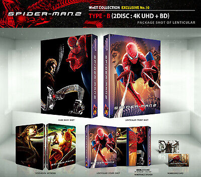 (Presale) SPIDER-MAN 2 [Blu-ray] 4K+2D (STEELBOOK), Lenticular-B Type 850 Copies