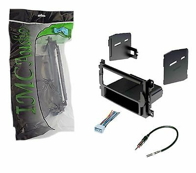 Chrysler Dodge Jeep Single Din Dash Kit for Radio Stereo Install Harness Antenna