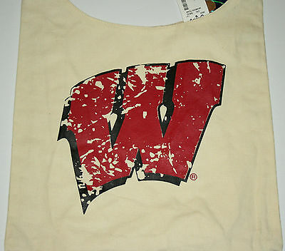 University of Wisconsin Badgers Football Team Sports Canvas Book Bag New (University Wisconsin Badger Sports)