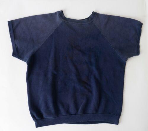 True Vintage Early 60s 2 Tone Sweatshirt Short Raglan Sleeve All Cotton