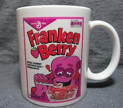 Franken Berry Cereal Box Coffee Cup, Mug - GM Classic - Sharp - COLLECT THE SET