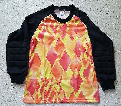 dfe40b2e8 Action Soccer Goalie Jersey Retro Vintage 90s Made in USA YOUTH MEDIUM