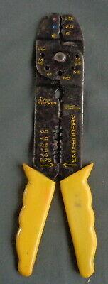ZUNOSTECKER krimptang geïsoleerde kabelschoenen 20cm crimp tool Pinza compresión