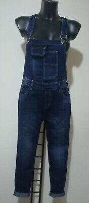 salopette jeans donna in sconto misura L elasticizzato