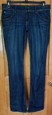 Women's Hudson Flap Pocket Boot Cut Jeans Sz 31 Stretch