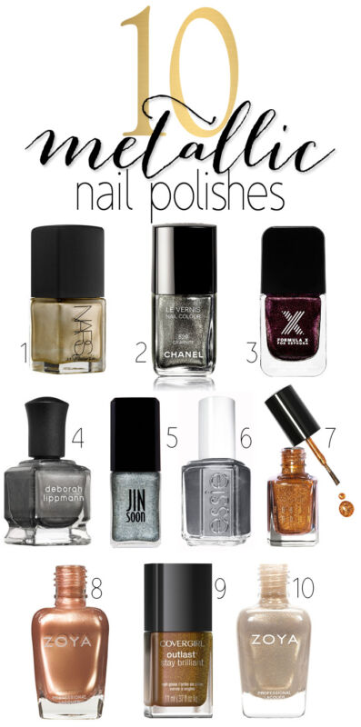The Best Metallic Nail Polishes for Fall | eBay