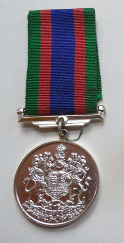 World War II Canadian Silver Plated Canadian Voluntary Service Medal - COPY