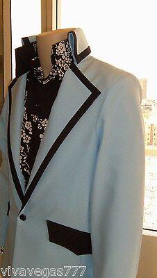 SMALL Elvis (Madison Square Garden Jacket) Tribute Artist Costume (Jumpsuit Era)