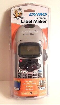 Dymo Letratag Lt-100h Handheld Personal Label Maker For Office Or Home H