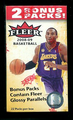 2008-09 Fleer Basketball Wax Box Unopened Retail Blaster Westbrook Love -