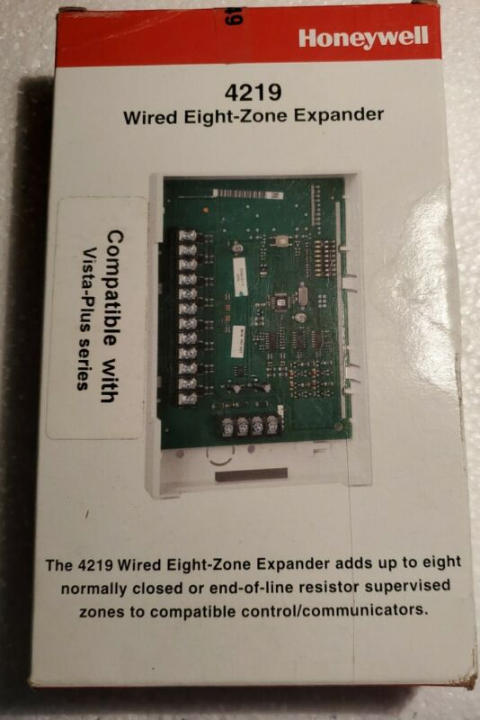 New Honeywell/Ademco 4219 Wired 8 Zone Expander