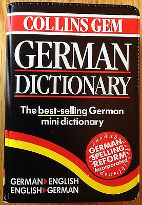 Collins Gem German Dictionary - The Best-selling German Mini (The Best German Dictionary)