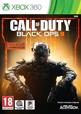 CALL OF DUTY BLACK OPS III JEU XBOX 360 NEUF VERSION FRANCAISE