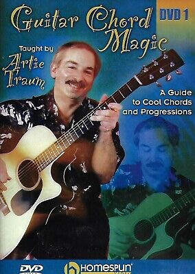 Guitar Chord Magic - A Guide to Cool Chords and Progressions DVD 1 (DVD, 2005)